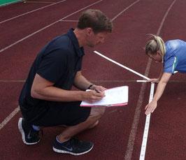 Bewegungsanalyse Athlet