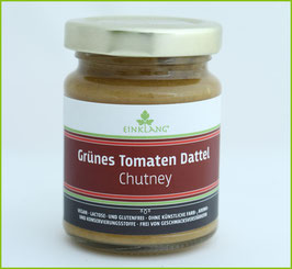 Grüne Tomate - Dattelchutney, 140g