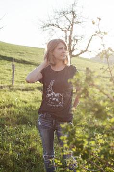 Shirt mit Sujet «Carousel Rabbit»