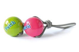 Planet Dog, 1x Hundespielzeug Orbee-Tuff® Fetch Ball mit Seil, Ø 7,5 cm