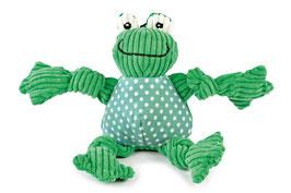 HuggleHounds®, Hundespielzeug Frog-Knottie