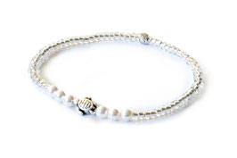 "hundestrand, Armband ""Turtle pearl"", elastisch"