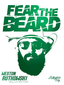 Fear The Beard Rutkowski 1Poster