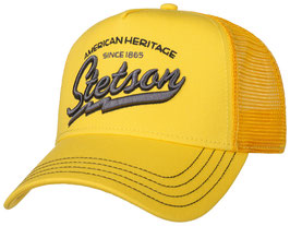 "Stetson Trucker Cap ""Racing Team"" Gelb"