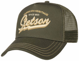 "Stetson Trucker Cap ""Racing Team"" Oliv"