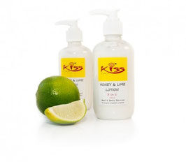ORGANIC HONEY Moisturisers & Lotions - Honey Lime 3 in 1 Lotion 250mls