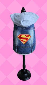 """Jeansjacke """"Super"""" Gr.S"""