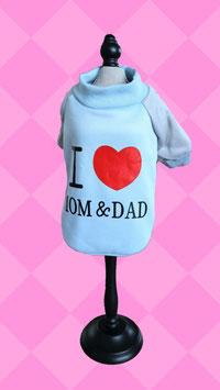 """Pullover """"I Love MOM&DAD"""""""