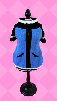 Pullover Blau Strick