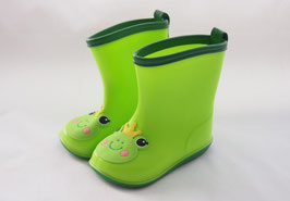 4 - Groene regenlaarsjes met kikkertje