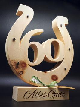 Ein Grandioses Geschenk zum Geburtstag aus Zirben Holz