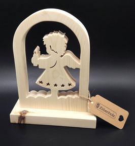 Zirben Engel - ein Weihnachtsgeschenk aus Holz