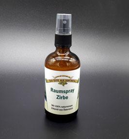 Naturprodukt Zirbenholz Raumspray - Der Duft und Aroma von Zirben Holz für Zuhause