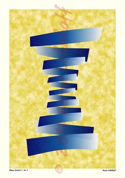 Blauer Wirbel 2 - Nr.1