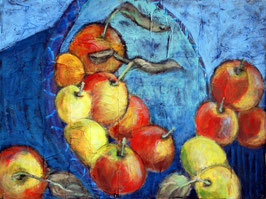 Postkarten Herbstäpfel