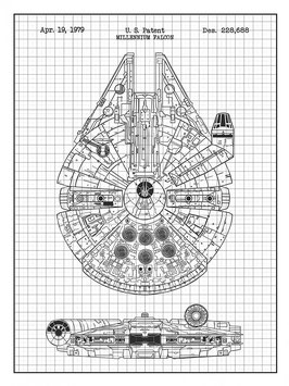 Starwars Millennium Falcon 1979