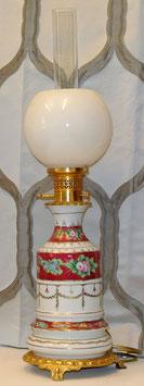 Lampada '800 in porcellana