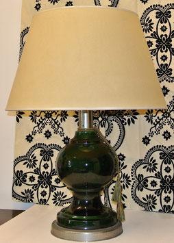 Lampada in vetro verde