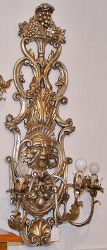 Applique intagliata argento mecca