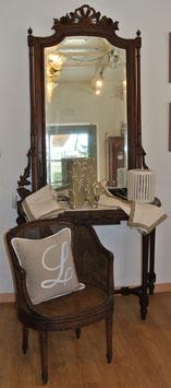 Consolle con specchio Luigi XVI