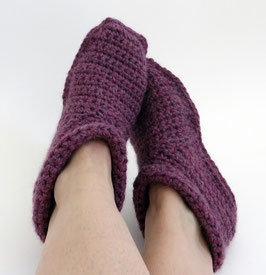 ALPAKA-Slipper-Booties |  beere