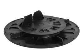 Stellfuss mit Balkenaufnahme Base 19 - 27 mm