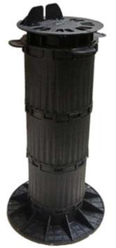 Stellfuss mit Balkenaufnahme Pro 370 - 470 mm