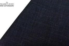 Leinen-Schurwoll-Mischung Nachtblau S30031