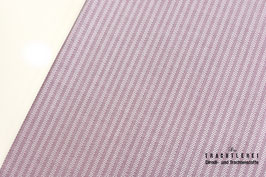 Baumwolljacquard Gretchen Fliederrosa - Weiß A10471