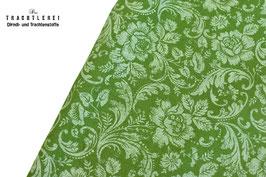 Trachtenstoff Baumwolle Maigrün B10285