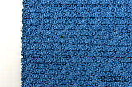 Posamentenborte Zopfmotiv Prussian Blue K20017