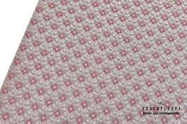 Trachtenjacquard Beige - Rosa A10387