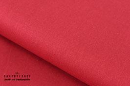 Baumwolle uni Red S70000