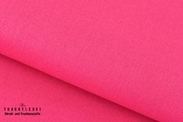 Baumwolle uni Shocking Pink S70002