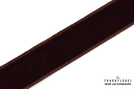 Samtband Dark Brown M 10012