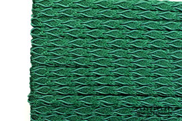 Posamentenborte Zopfmotiv Hunter Green K20024