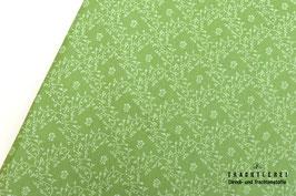 Trachtenstoff Baumwole Lindgrün B10298