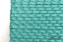 Posamentenborte Zopfmotiv New Turquoise K20021