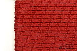 Posamentenborte Zopfmotiv Rot K20003