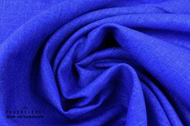 Trachtenstoff Leinen Cobaltblau S30018