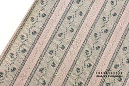 Trachtenjacquard Beige - Rosa - Tannengrün A10395