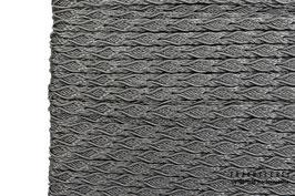 Posamentenborte Zopfmotiv Smoked Grey K20033