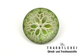 Trachtenknopf Kunststoff Grün G10082