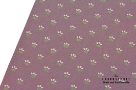 Trachtenstoff Baumwolle Mauve-Rosa-Moos B10319