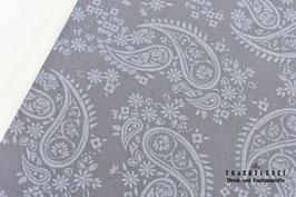 Trachtenstoff Baumwolle gedecktes Lavendelgrau B10295