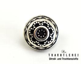 Trachtenknopf alt-silber G10054