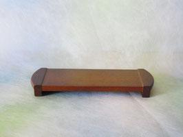 木製 モダン仏器膳 ダーク色