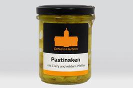 Pastinaken mit Curry und wildem Pfeffer