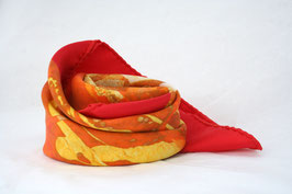 Foulard Indian Summer with Capucine de Laage