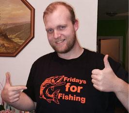 Fridays for Fishing T-Shirt !!!AUSVERKAUF!!!